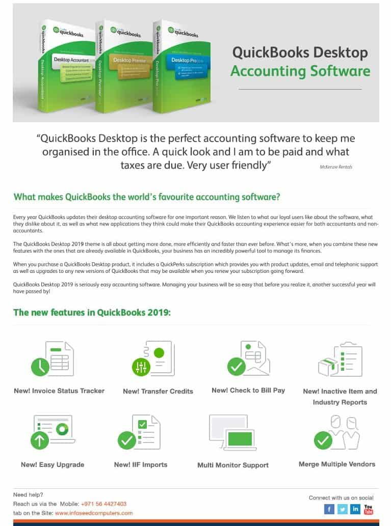 quickbooks dubai, quickbooks software