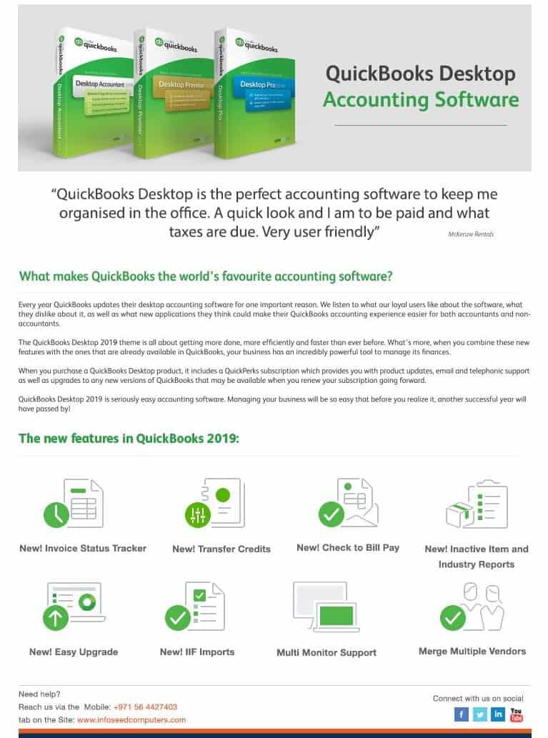 QUICKBOOKS UK VAT DEALER Dubai UAE | Pro Premier Enterprise